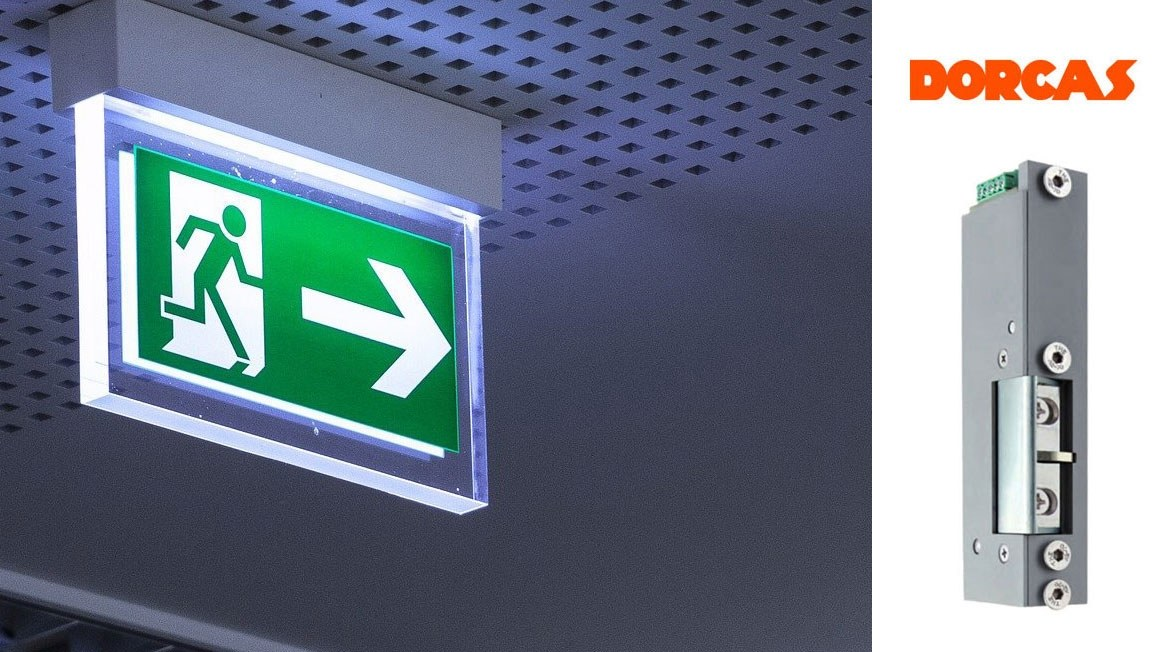Elektrozaczep ewakuacyjny 77N hiszpańskiej marki Dorcas został przebadany na zgodność z wytycznymi dla elektrycznych systemów ryglowania drzwi w ciągach ewakuacyjnych (EltVTR)   NOVET.EU
